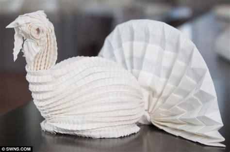 Napkin Origami Animals - image gallery napkin animals