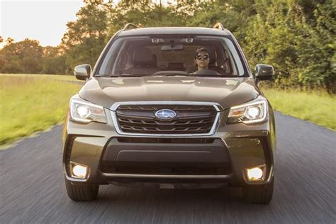 subaru forester 2018 review 2018 subaru forester car review autotrader