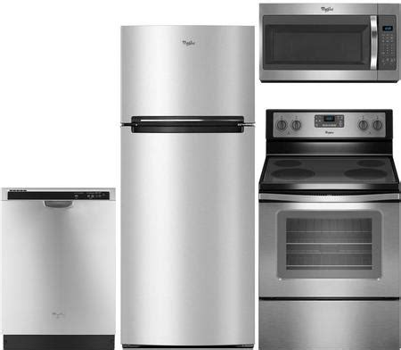 whirlpool kitchen appliance package whirlpool kitchen appliance packages wh4pc30efstffcsskit1