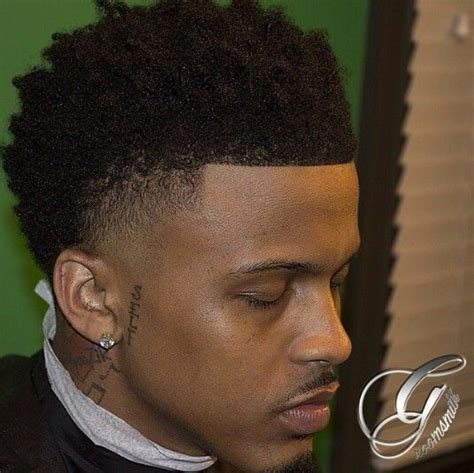 august alsaina hairstyle august alsina temp fade with natural hair