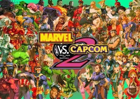 marvel vs capcom 2 official marvel vs capcom 2 character list
