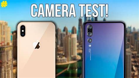 apple iphone xs max  huawei p pro camera comparison