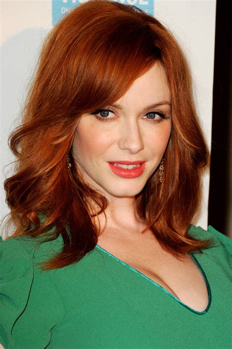 who is a celebraty with red hair famous actresses with red hair