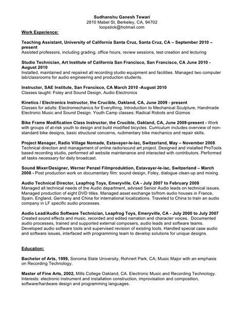 motorcycle repair sle resume motorcycle mechanic description resume style by