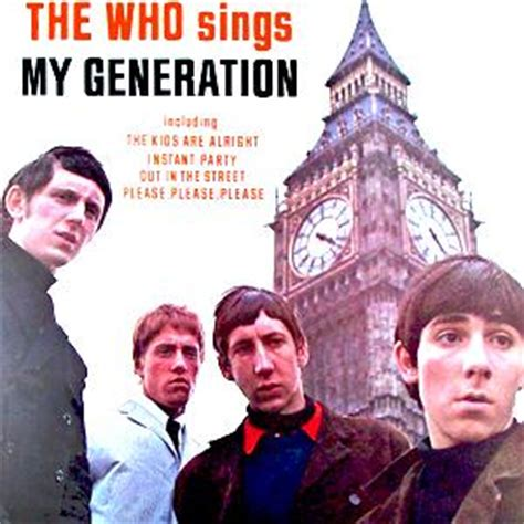 who sings my my generation sheet by the who lyrics only 24200