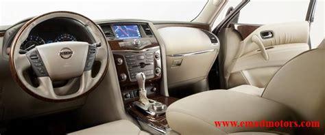 nissan patrol platinum interior nissan patrol le platinum emad motors