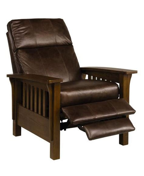 Leather Mission Style Recliner by 1000 Ideas About Leather Recliner Chair On
