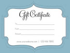 Free Gift Certificate Templates by Free Business Gift Certificate Template Auction