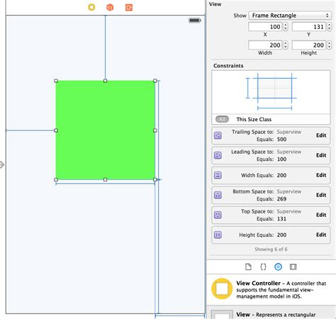 auto layout meaning ios how can i use autolayout to set constraints on my