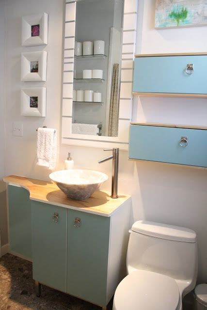 bathroom hacks ikea hack for a small bathroom diy pinterest