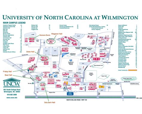 unc map map of carolina colleges pictures to pin on pinsdaddy