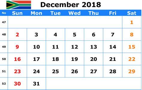 december  calendar  holidays south africa calendar template  calendar excel calendar