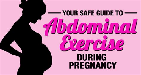 safe guide  abdominal exercises  pregnancy