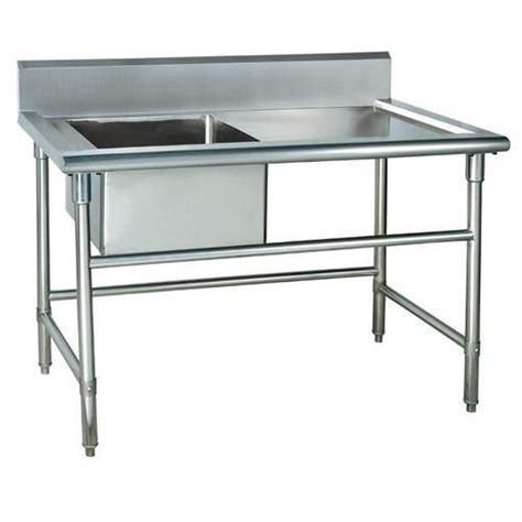 Cing Kitchen Table With Sink Stainless Steel Work Bench With Sink Benches