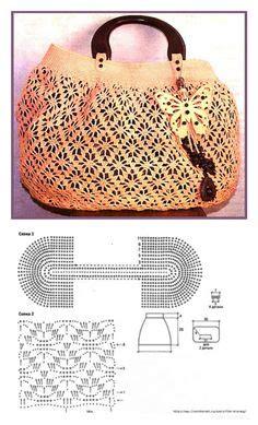 pattern rajut tas 1000 images about crochet bag on pinterest water bottle