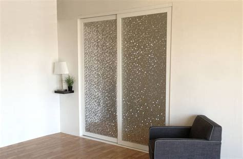 Glass Closet Doors For Bedrooms Layered Glass Sliding Closet Doors Room Dividers Contemporary Bedroom Los Angeles By