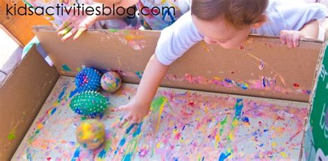 painting for three year olds activities for 2 year olds