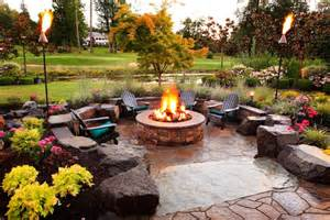 Magical outdoor fire pit seating ideas amp area designs