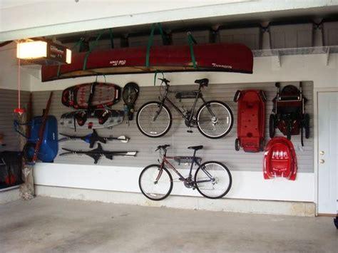 organizar cochera ideas para organizar el garage bicicletas garaje