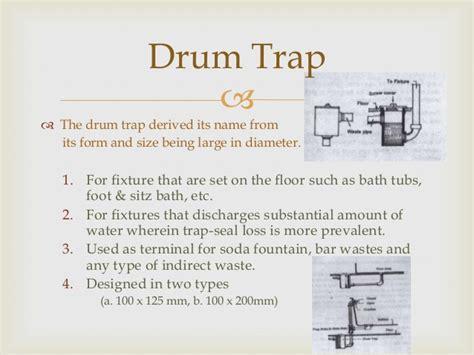Bath Shower Fixtures 5 traps amp sovent