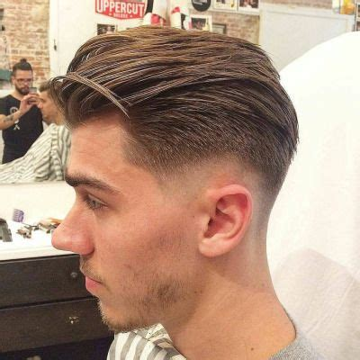 gentlemens haircuts short sides and fade with long on top men s hair haircuts fade haircuts short medium long