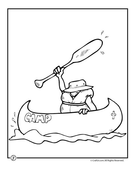 indian canoe coloring page easy of canoes coloring pages