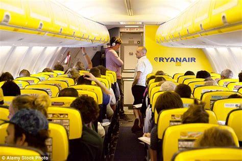 ryanair cabin ryanair reveals redesigned cabin interior on its new