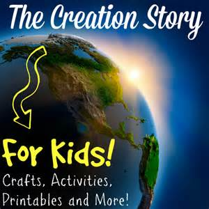 creation story for book the creation story for kids true aim