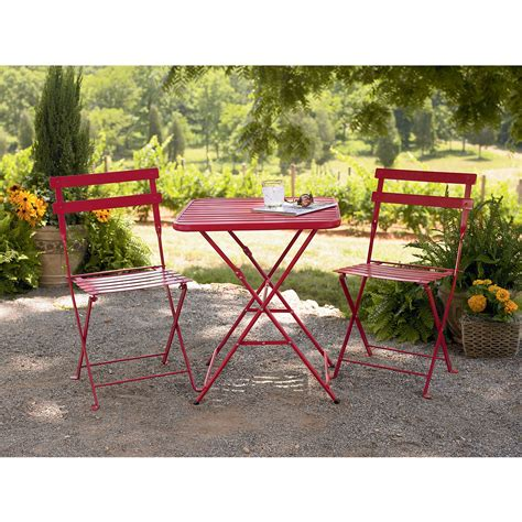 sears patio table sets bistro set get a new outdoor bistro table at sears