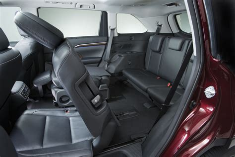 Toyota 4runner Captains Chairs Five Most Fuel Efficient Vehicles With Third Row Seating