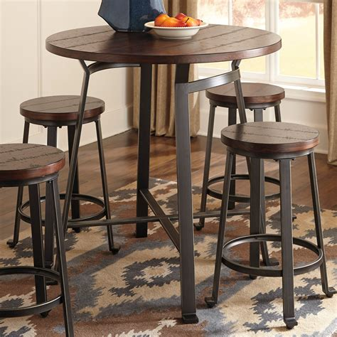 what is a pub table signature design by challiman counter height pub