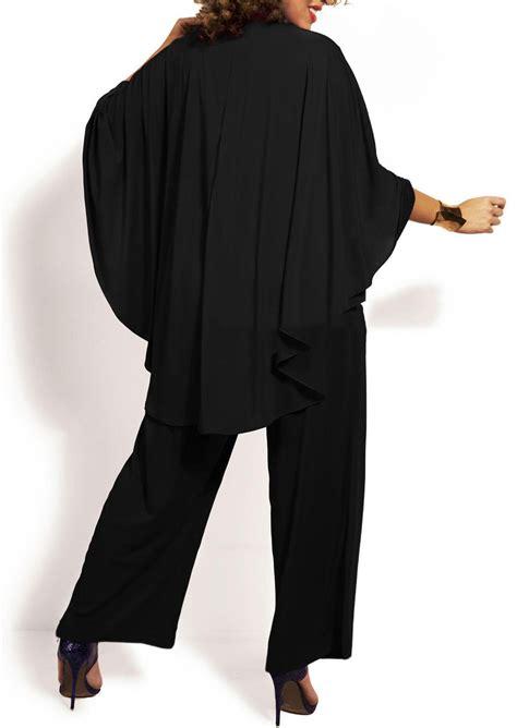 High Waist Jumpsuit high waist batwing sleeve jumpsuit fairyseason