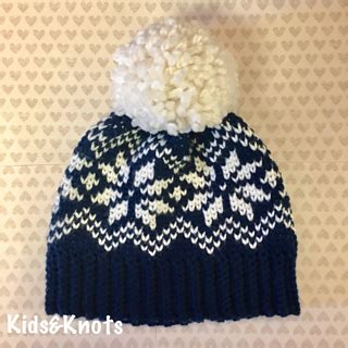 snowflake pattern for knitting ravelry snowflake knit look hat pattern by kelsey daughtry
