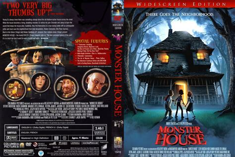 cover house monster house movie dvd custom covers 3374monster house dvd covers