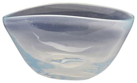 Handmade Glass Bowls - glass opal bowl handmade small style