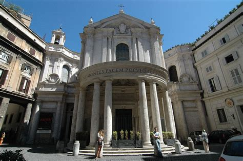 chiesa dei ladari a roma chiesa di santa della pace roma