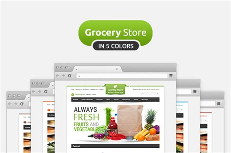 themes for grocery store grocery store premium opencart theme themes on creative