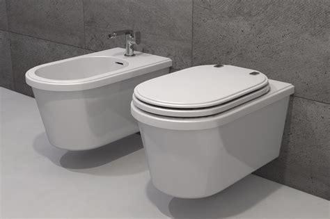 wc et bidet wc moderne et bidet suspendus theos 2 watergame company