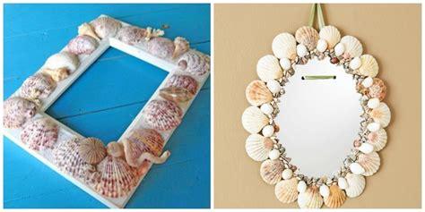 cornici conchiglie decorare con le conchiglie feste e compleanni