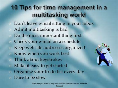 Top 10 Time Management Tips For Every Day by Time Management In The Office And Out On