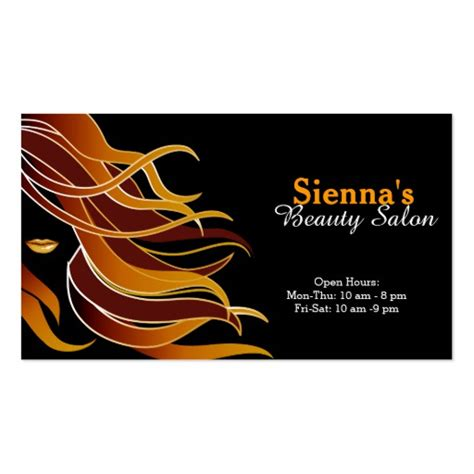 hair stylist business card templates zazzle