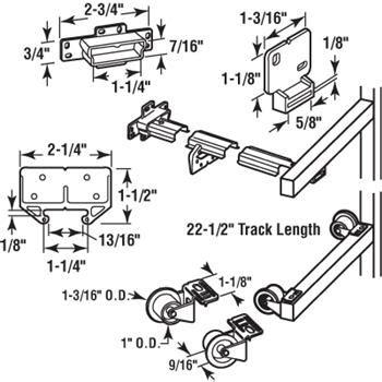 drawer track repair kit r 7125 wood drawer track repair kit metal track