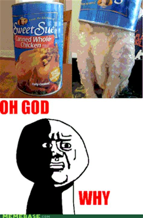Funny Gross Memes - lol funny food meme gross canned chicken northernaviator