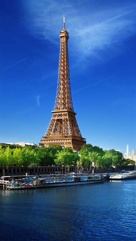 eiffel tower river wallpapers