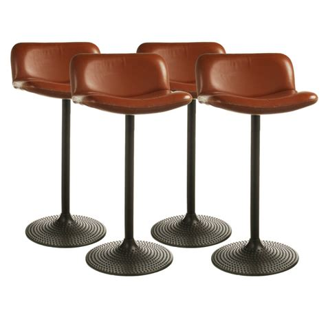 Kitchen Stool Cushions by Kitchen Design Unique Brown Leather Swivel Bar Stool