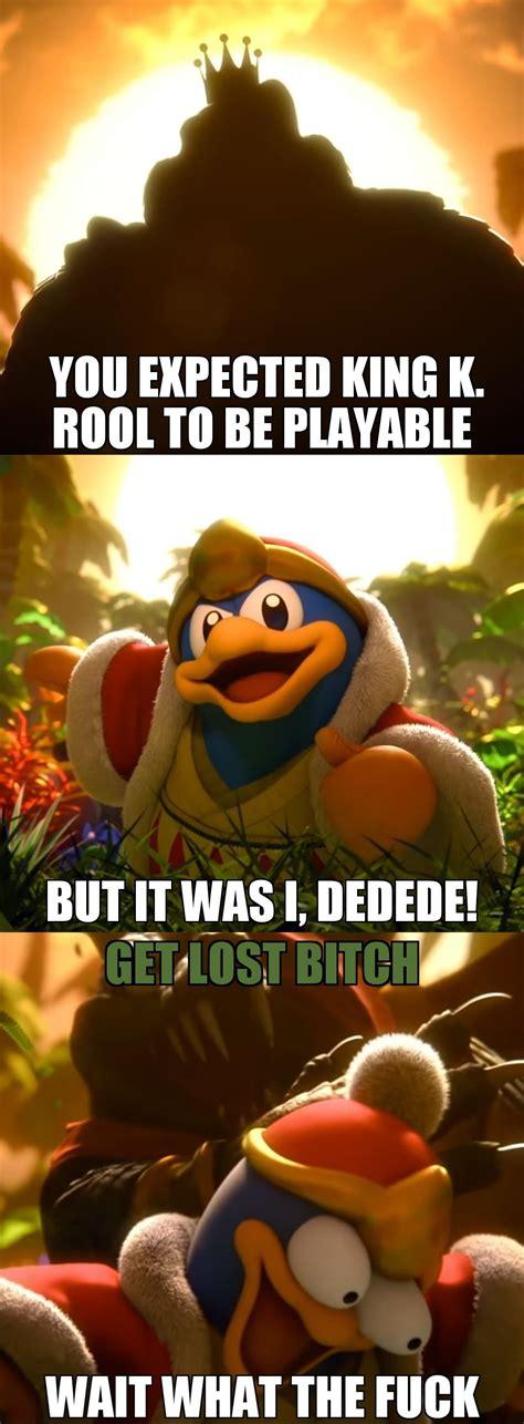 smash meme king k rool s smash reveal trailer in a nutshell memes