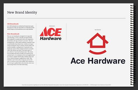ace hardware bandar lung ace hardware corporate brand identity manual on behance