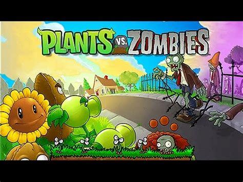 fiori contro zombi dibujos animados para ni 241 os plantas vs zombies