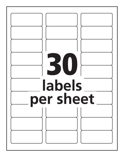 free avery label templates free avery 8160 blank template go search for