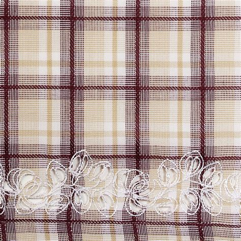 plaid drapes window treatments dover plaid window treatments